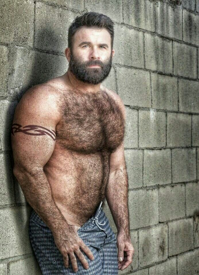 hairy male arms