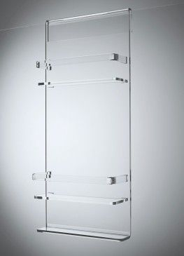 Clear Over The Door Shower Caddy With Images Shower Screen