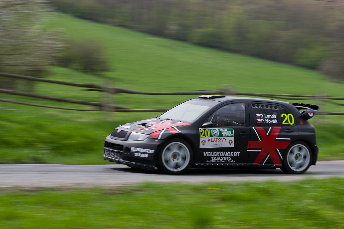 D. Landa na Rallye Klatovy