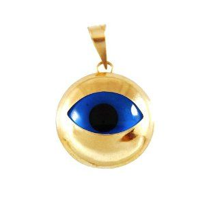 14K Gold Evil Eye Pendant Quality Lucky eye designs Evil Eye Store