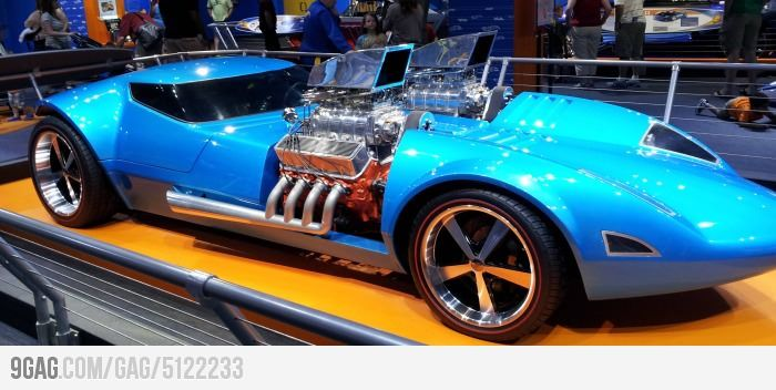 Real-life Hot Wheels Twin Mill