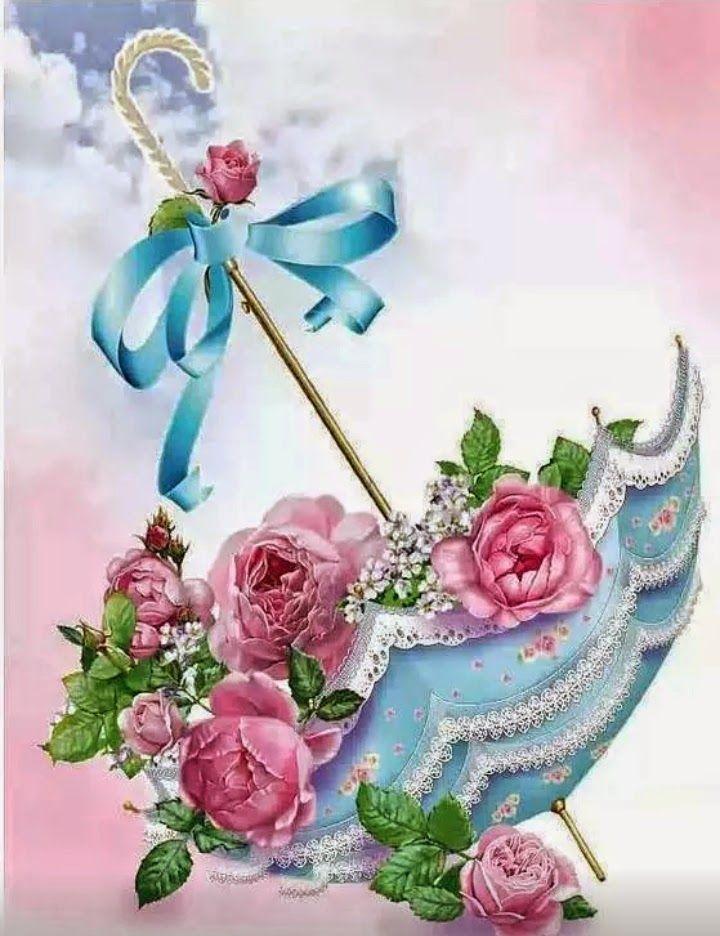 Ana Rosa, cherjournaldesilmara: Guarda-chuva com rosas