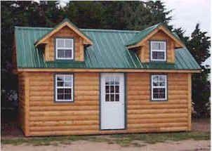 Kansas Log Cabins   Oklahoma Prefab Cabins   KS Wood Cabin