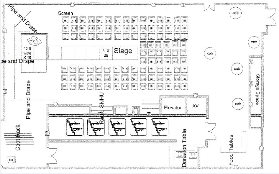 Fashion Show/Pageant floor plan sharon murphy New