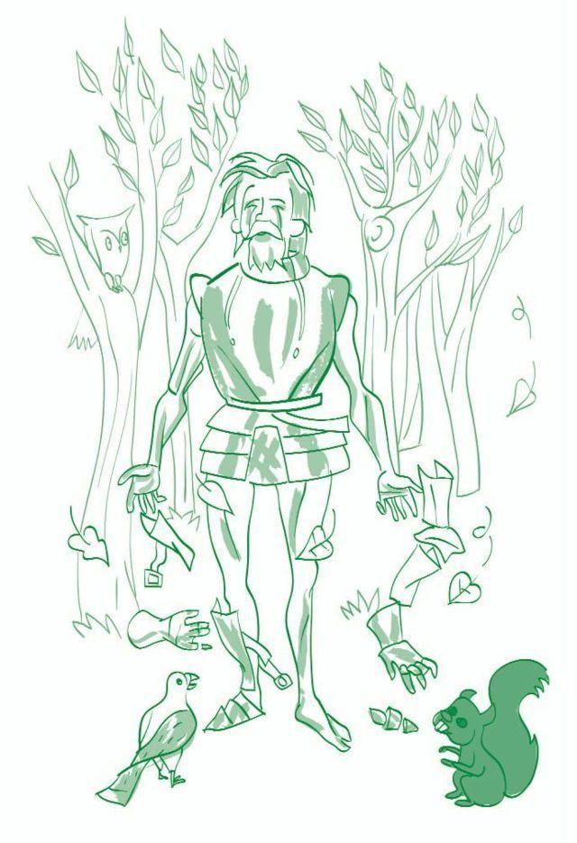 El castillo del conocimiento - ilustración: Mario Diniz