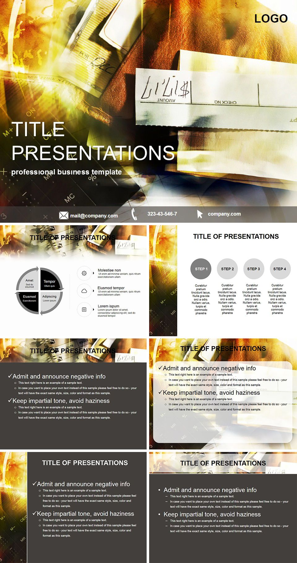 Income tax PowerPoint Template