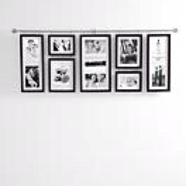 Hall Gallery Frame Set from Red Envelope | Home | Pinterest ...