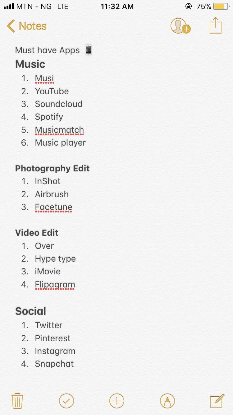 Photo of Must have apps 2018 IG @ore_k Pinterest @nextdoorchic Snapchat @orelaw