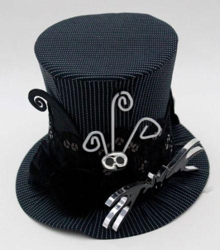 Nightmare Before Christmas Jack Skellington Mini Miniature Top Hat ...