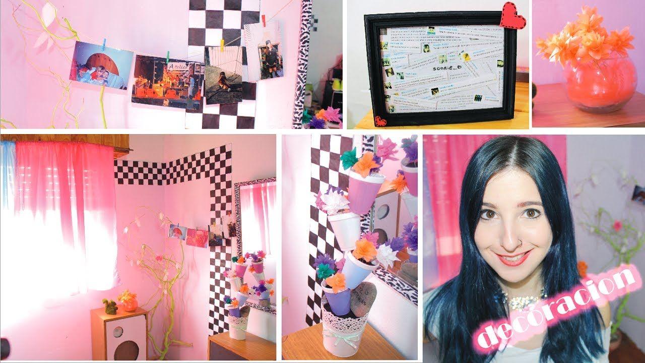 IDEAS PARA DECORAR TU HABITACIÓN ¡renueva tu cuarto! ideas ... on Room Decor Manualidades Para Decorar Tu Cuarto id=66640