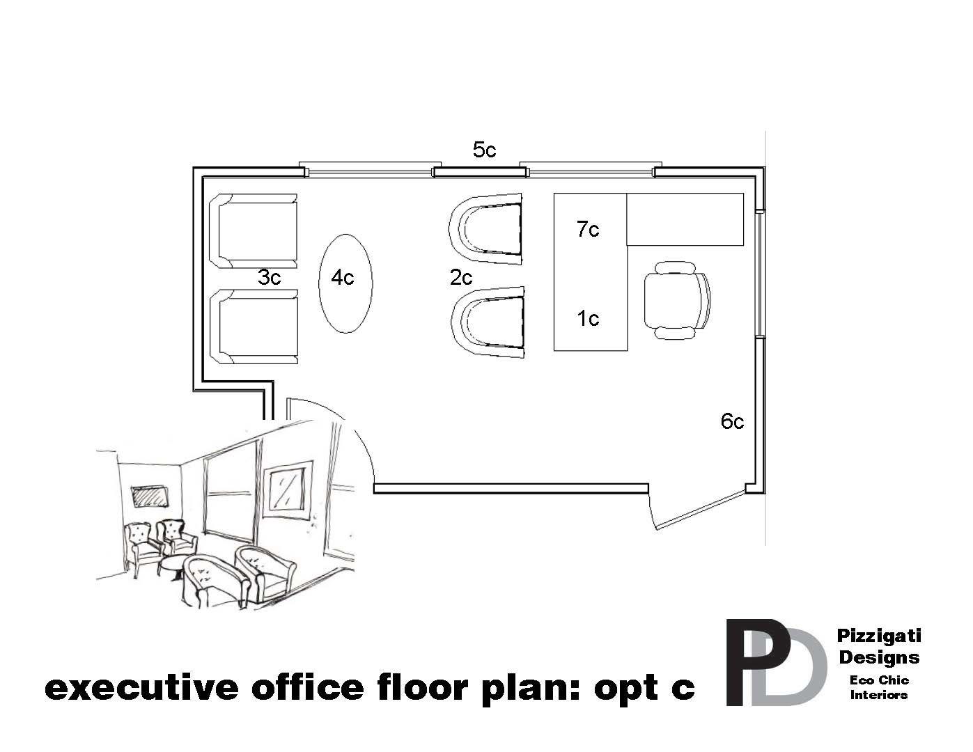 Eco Friendly Office Interior Design Private Office Floor