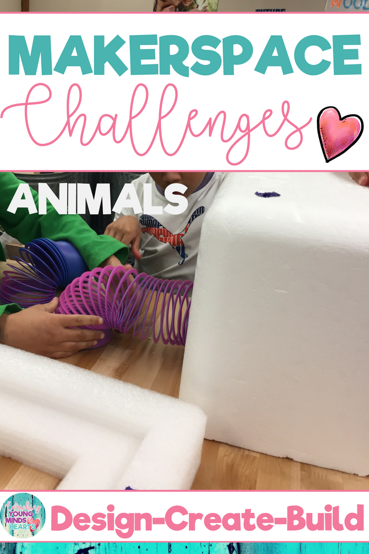 stem makerspace activities about animals social studies