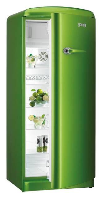 25 Colorful Fridge Ideas Modern Kitchen Appliances In Retro Styles Green Kitchen Simple Green Shades Of Green