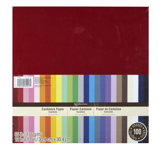 Essentials Cardstock Paper By Recollections 12 X 12 Card