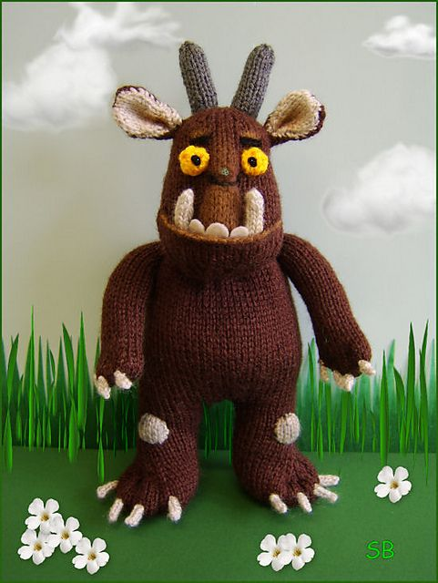 Knitting Patterns For Children s Tv Characters : The Gruffalo pattern by Phoeny Book characters