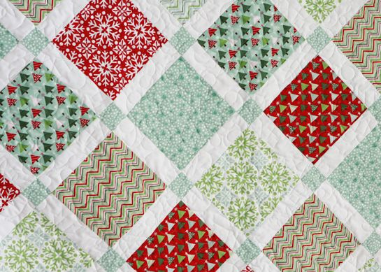 Family Christmas Quilt Sewing Pinterest
