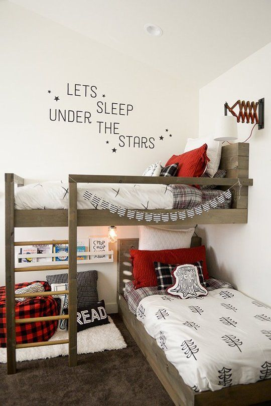 Oliver Leo S Little Lumbermen Room Kids Room Design Shared