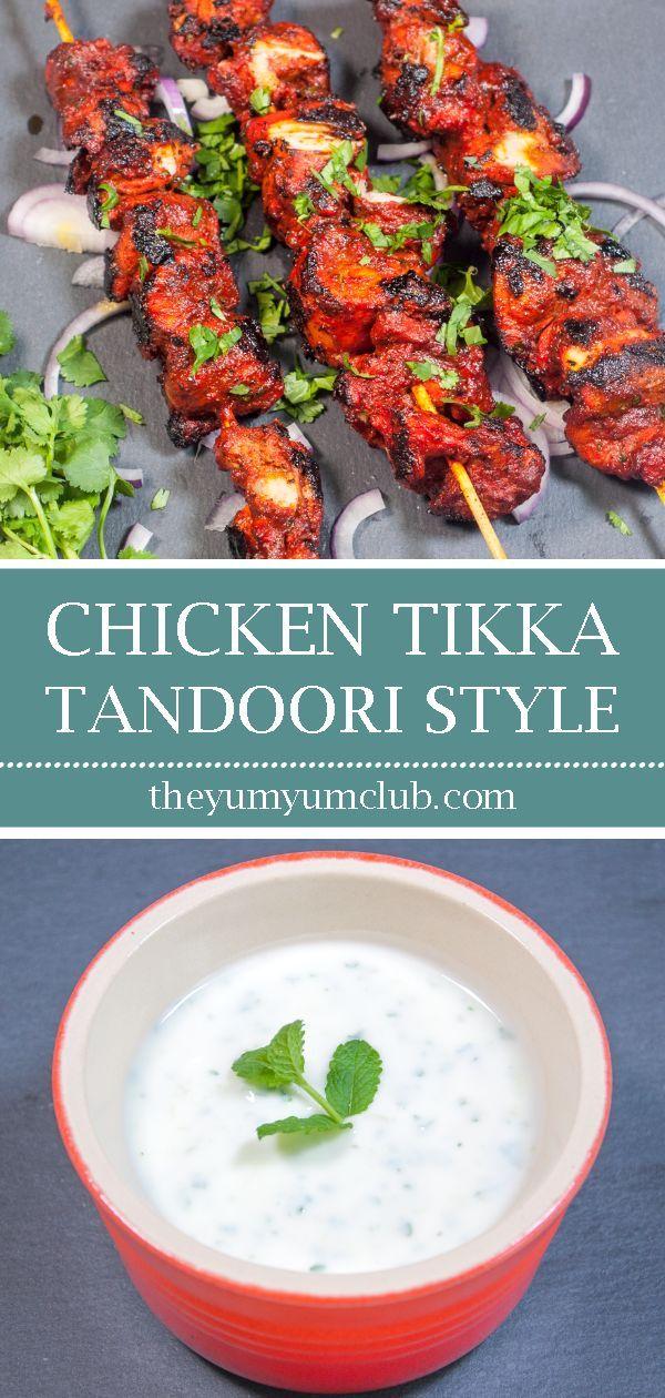 Aromatic Tandoori Chicken Tikka Masala #tandoorichicken