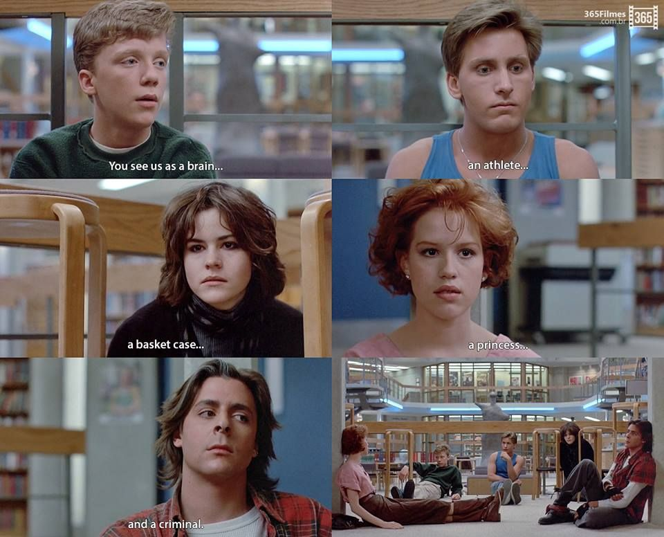 The Breakfast Club Omg This Movie With Images Breakfast