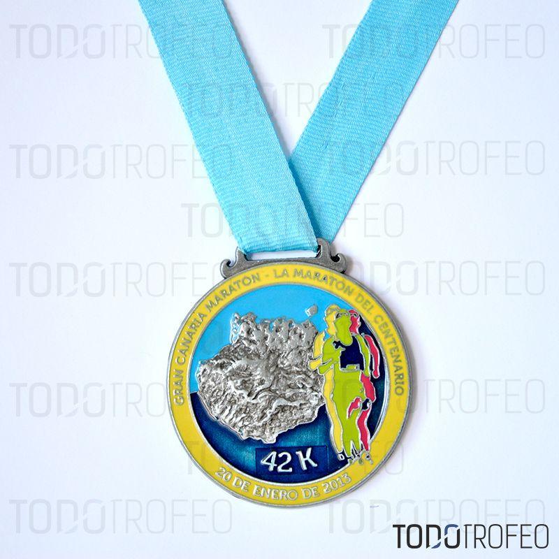 Medalla marat n de gran canaria 2013 dise amos las - Trabaja con nosotros gran canaria ...