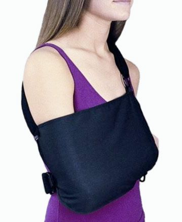 This Universal Right Left Shoulder Immobilizer Sling Is