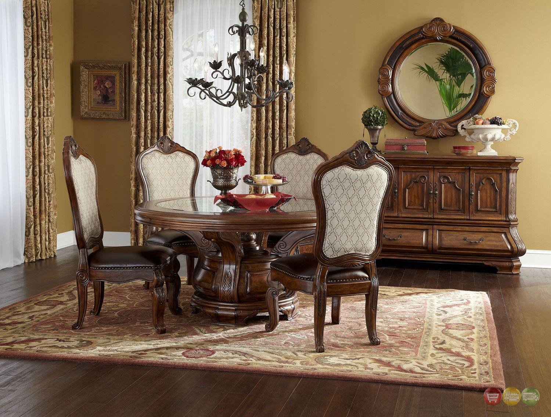 Dining Room Furniture, Aico Tuscano Dining Room Setup