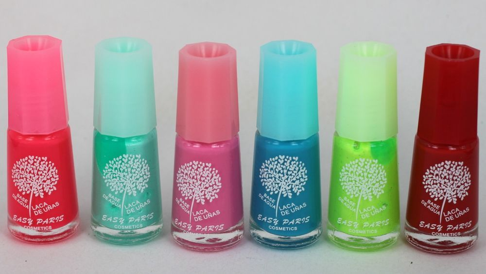 Details about Water-based Nontoxic Peel-off EASY PARIS Nail Polish ...