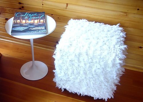 Ravelry: #26 Ottoman Cover by Cathy Carron