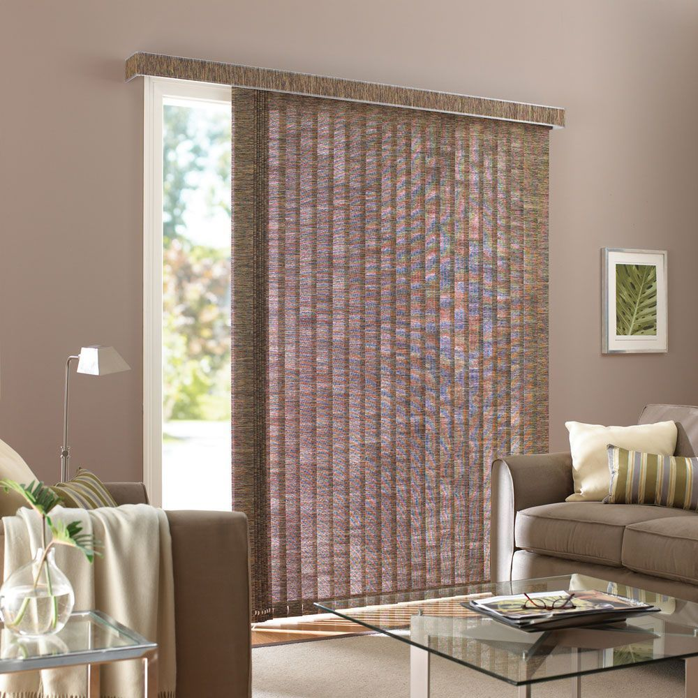 Room design white modern blinds for glass doors can be placed at