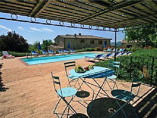 House for 16 people, with swimming pool, in Siena Vacation