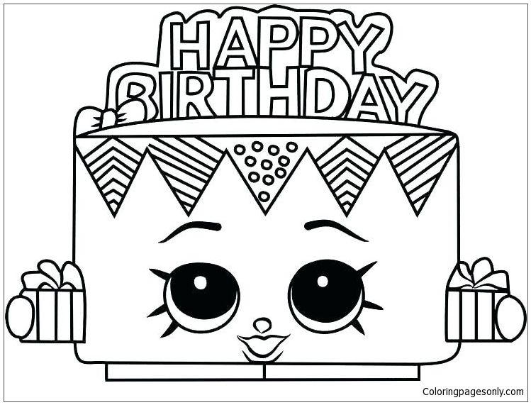 Trolls Party | Birthday coloring pages, Happy birthday coloring ... | 571x749