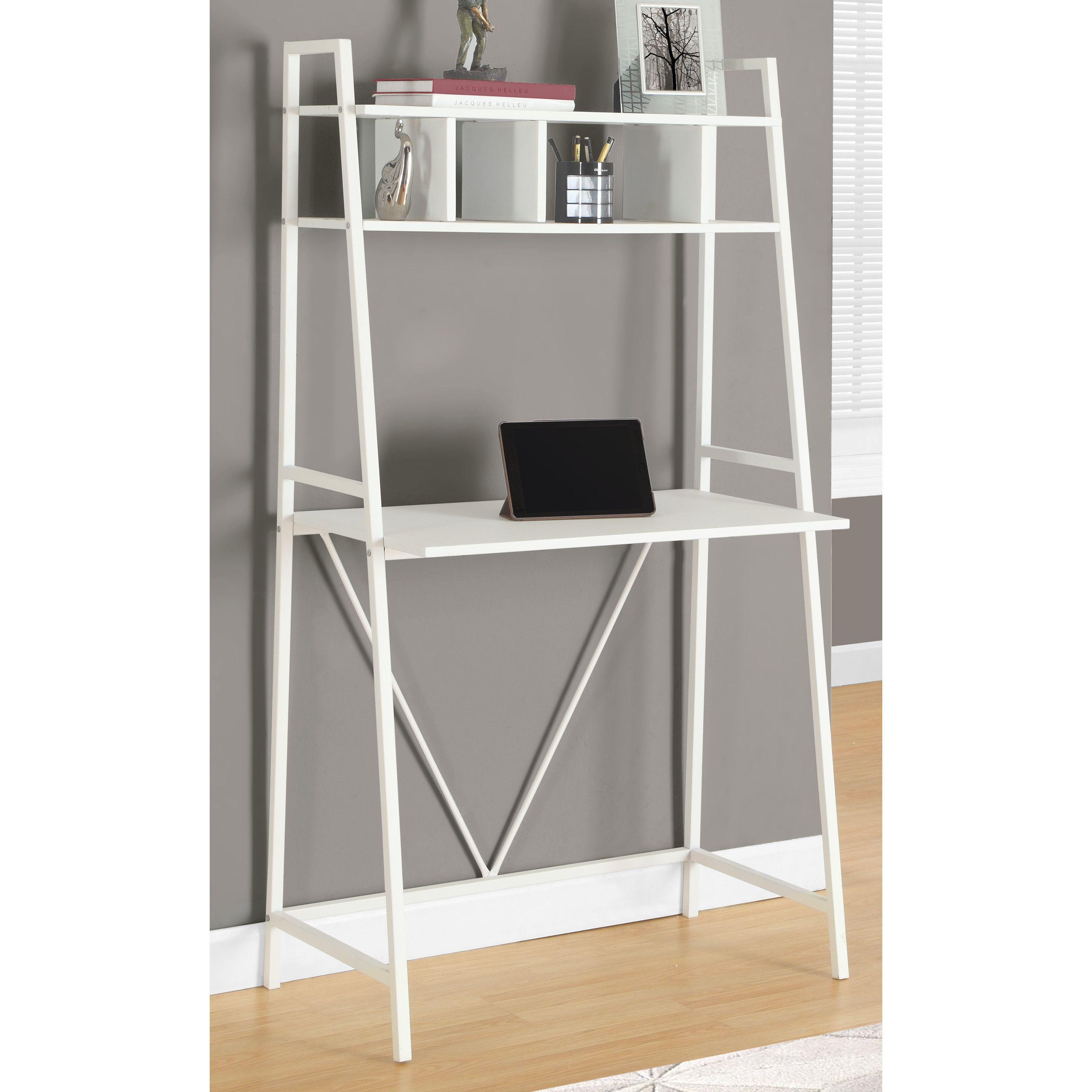 Ladder desk dream home pinterest desks bedrooms and living rooms
