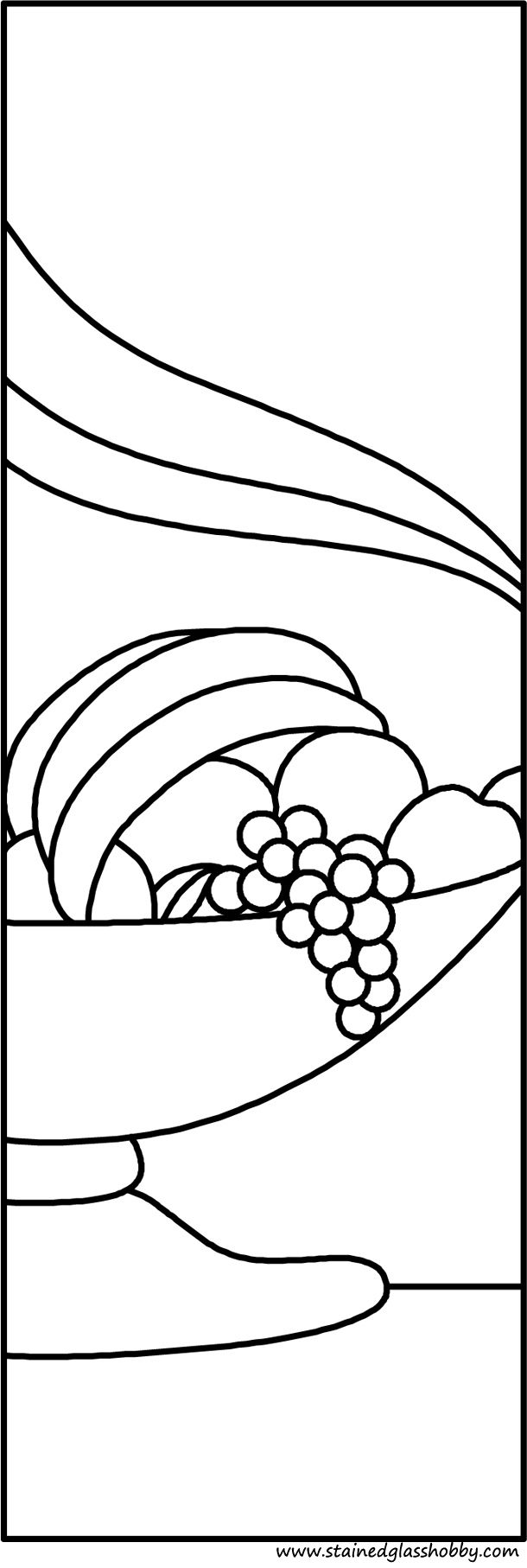Fruit in bowl stained glass pattern  sc 1 st  Pinterest & Fruit in bowl stained glass pattern | Doodle Templates | Pinterest ...