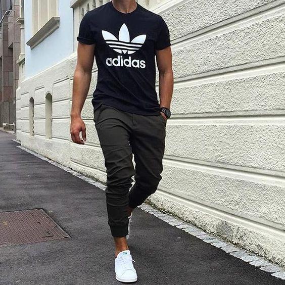 Looks Smith, Masculinos com Adidas Stan Smith, Looks pra inspirar | Sport 7afbb2