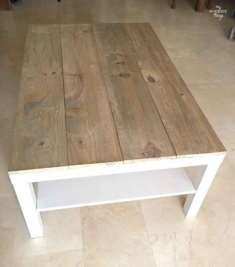 como pintar una mesa de madera ikea