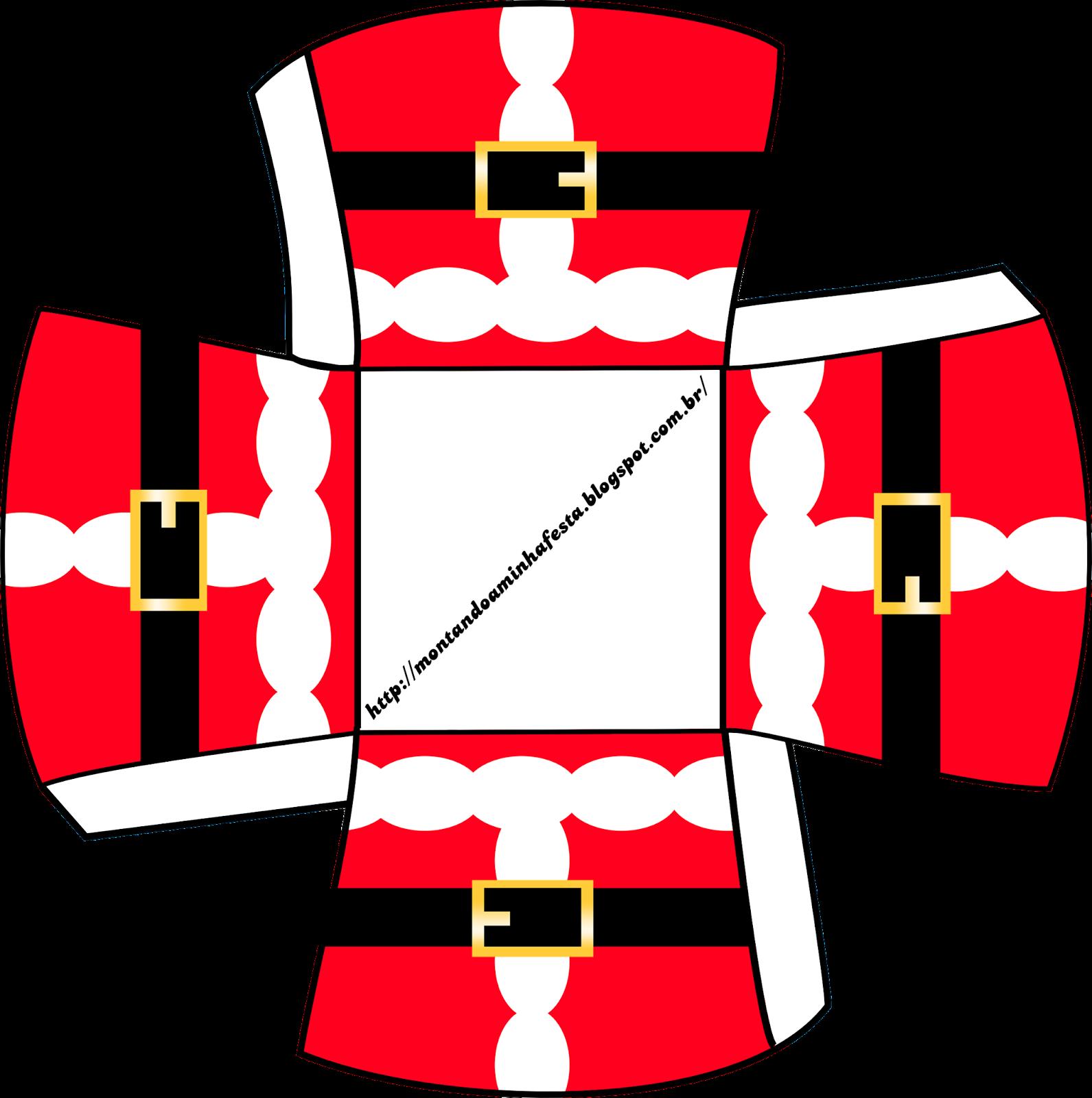 Santa Claus: Imprimibles Gratis para Fiestas y Cajas para Imprimir ...