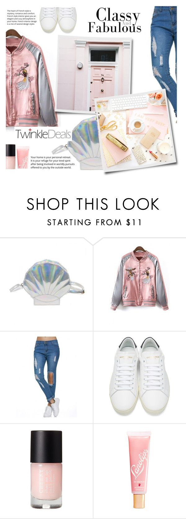 """""""Twinkle Deals"""" by pankh ❤ liked on Polyvore featuring Yves Saint Laurent, Lano, modern, chic, sporty, Different and freedom"""