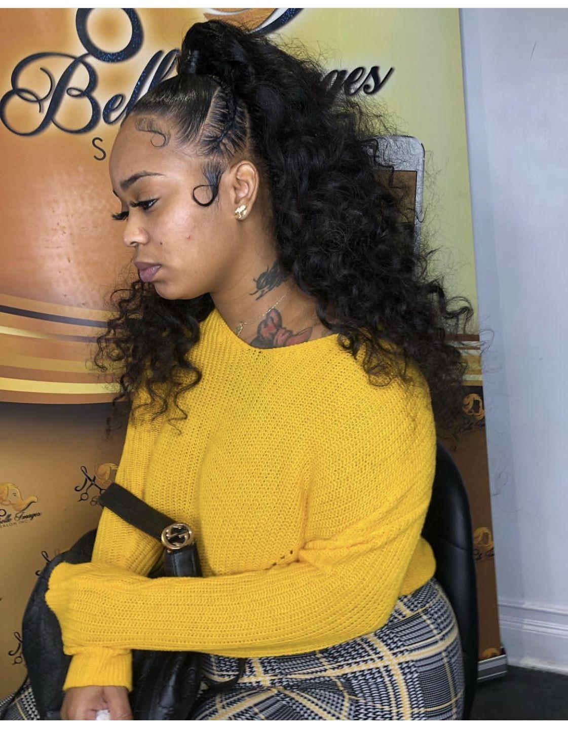 Curly Half Up Half Down ғᴏʟʟᴏᴡ ᴍᴇ Agaicnelabk ғᴏʀ ᴍᴏʀᴇ ᴘɪɴs Black Prom Hairstyles Hair Styles Prom Hair