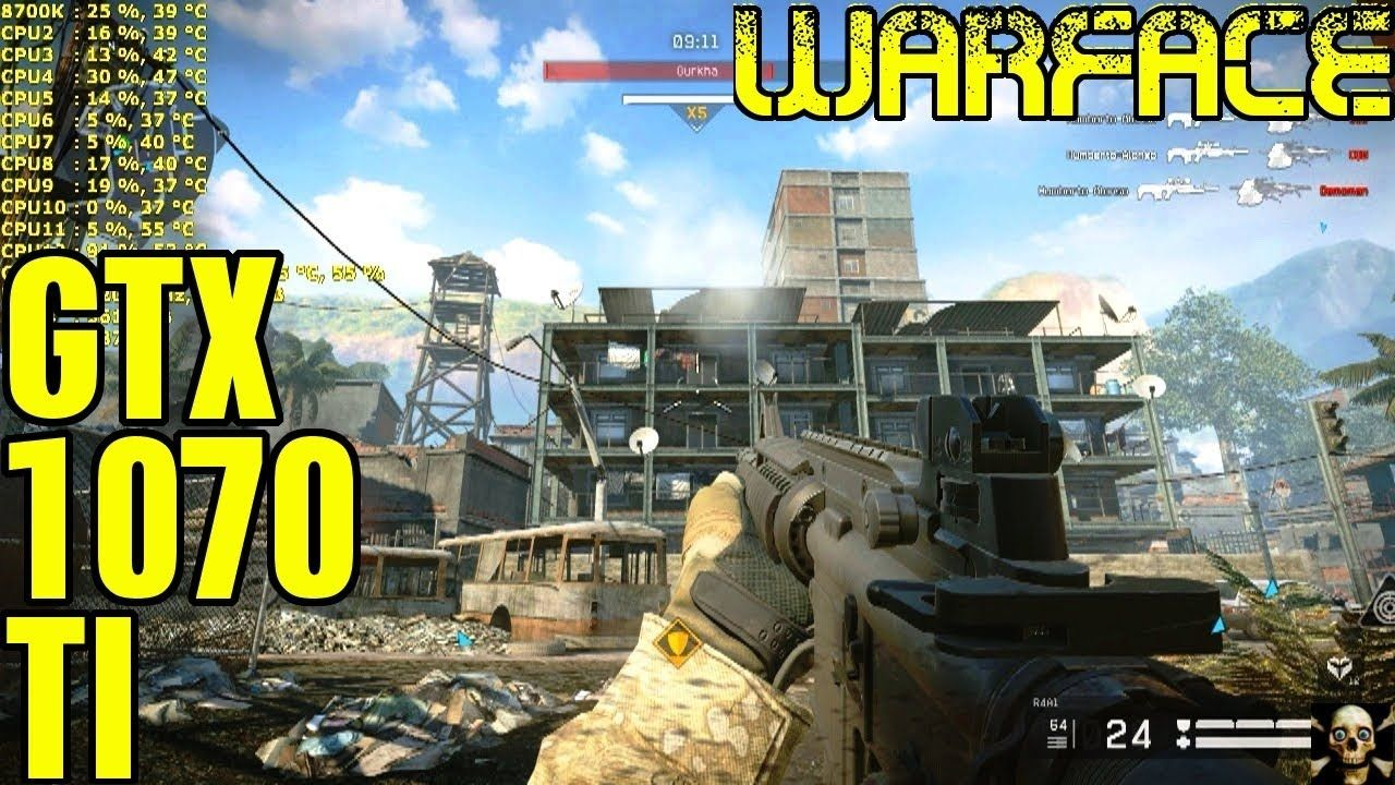Warface Crytek PC Gameplay 1440P Performance 8700K | EVGA GTX 1070