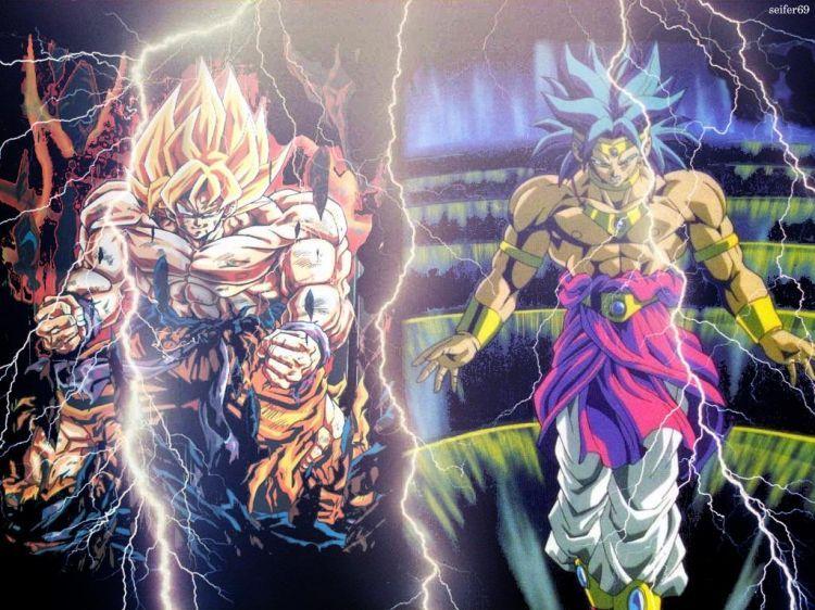 Dbz Wallpaper Hd Broly Dragon Ball Z Goku Vs