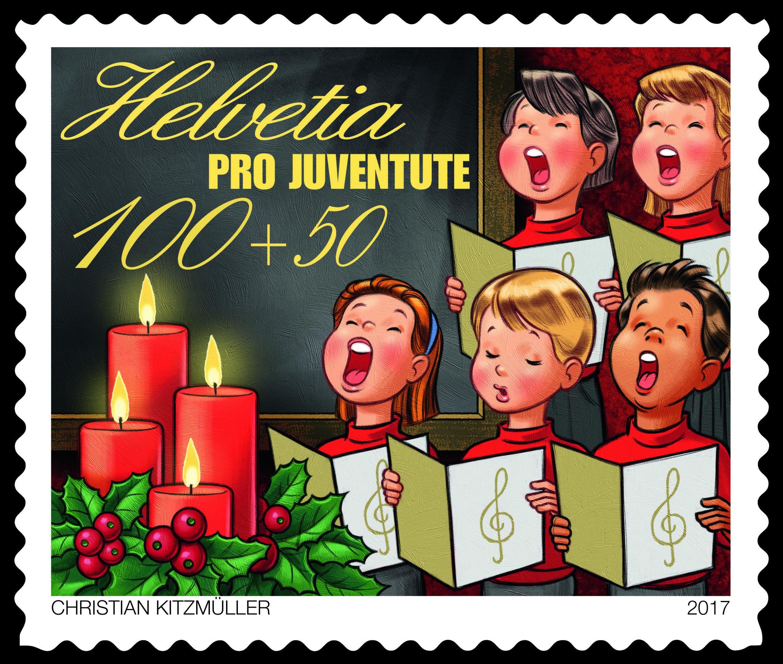 Weihnachtslieder Zum Singen.Schweiz Helvetia 2017 Pro Juventute Schulzeit Ii Kinder