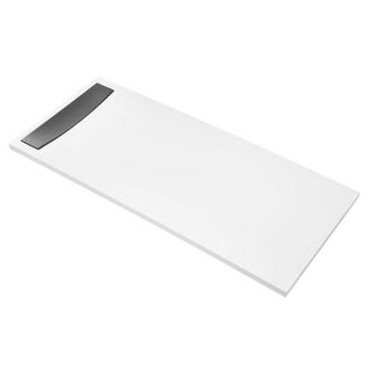 receveur extra-plat flight neus 160x90 acrylique blanc - jacob
