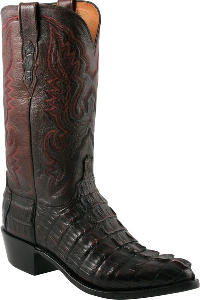 Lucchese Heritage Mens Black Cherry