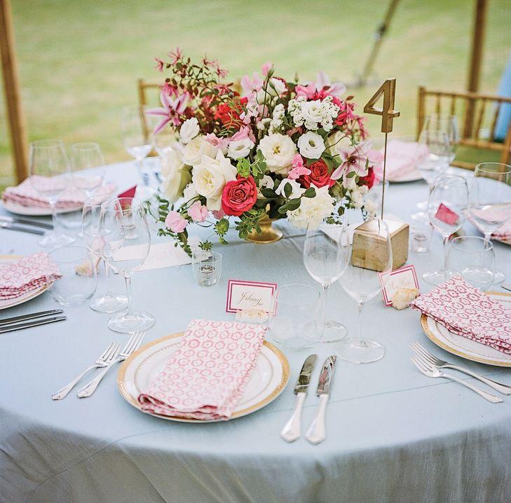 Louisiana Map Decor%0A Romantic Pink   Gold Table Decor   La Tavola Fine Linen Rentals https