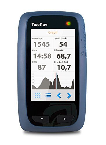 TwoNav Anima Handheld GPS with Great Britain OS 1:50000 Mapping – Blue/Black