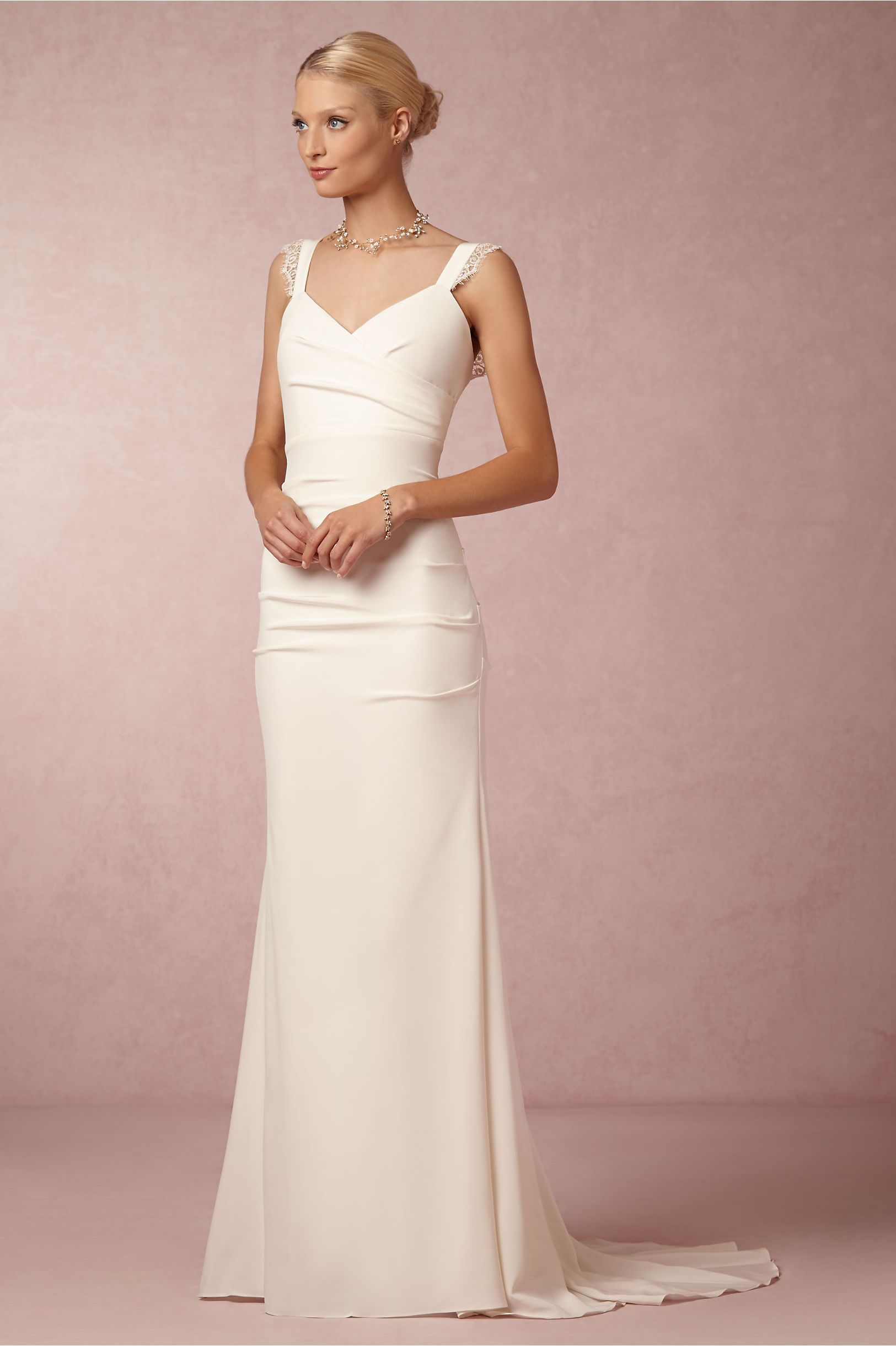 Alexis Gown from BHLDN. $1200. a little pricey but the lines are ...