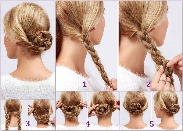 1 Dakikada Değişik Bir Saç Modeli Nasıl Yapılır