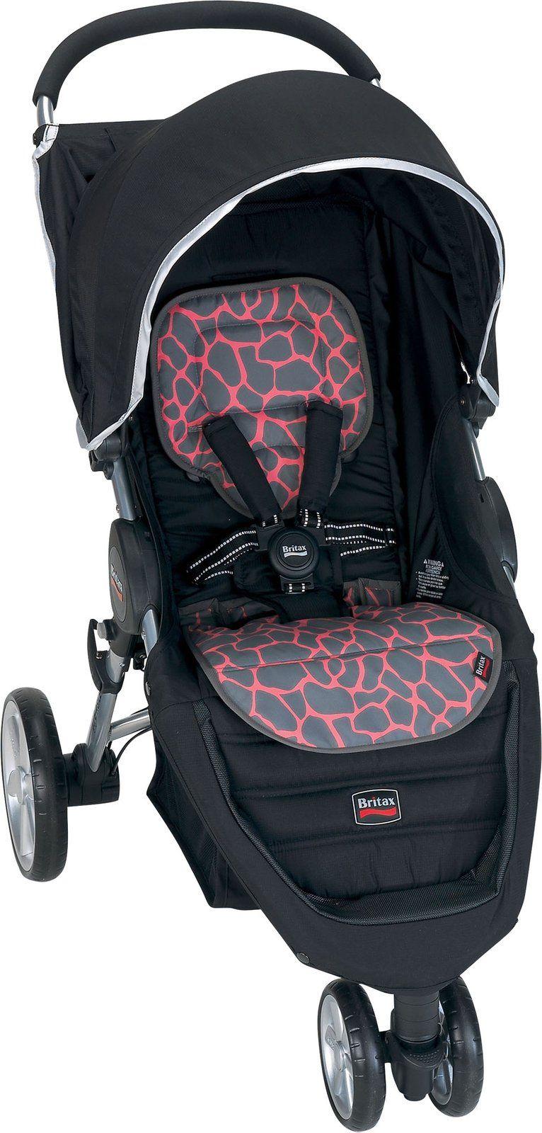 Britax BAgile Fashion Kit Pink Giraffe Free Shipping
