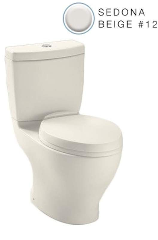 Toto Cst412mf Aquia Two Piece Elongated 0 9 Gpf Ada Height Toilet With Dual Max Sedona Beige Fixture Toilet Two Piece Elongated Toilet Toto Elongated