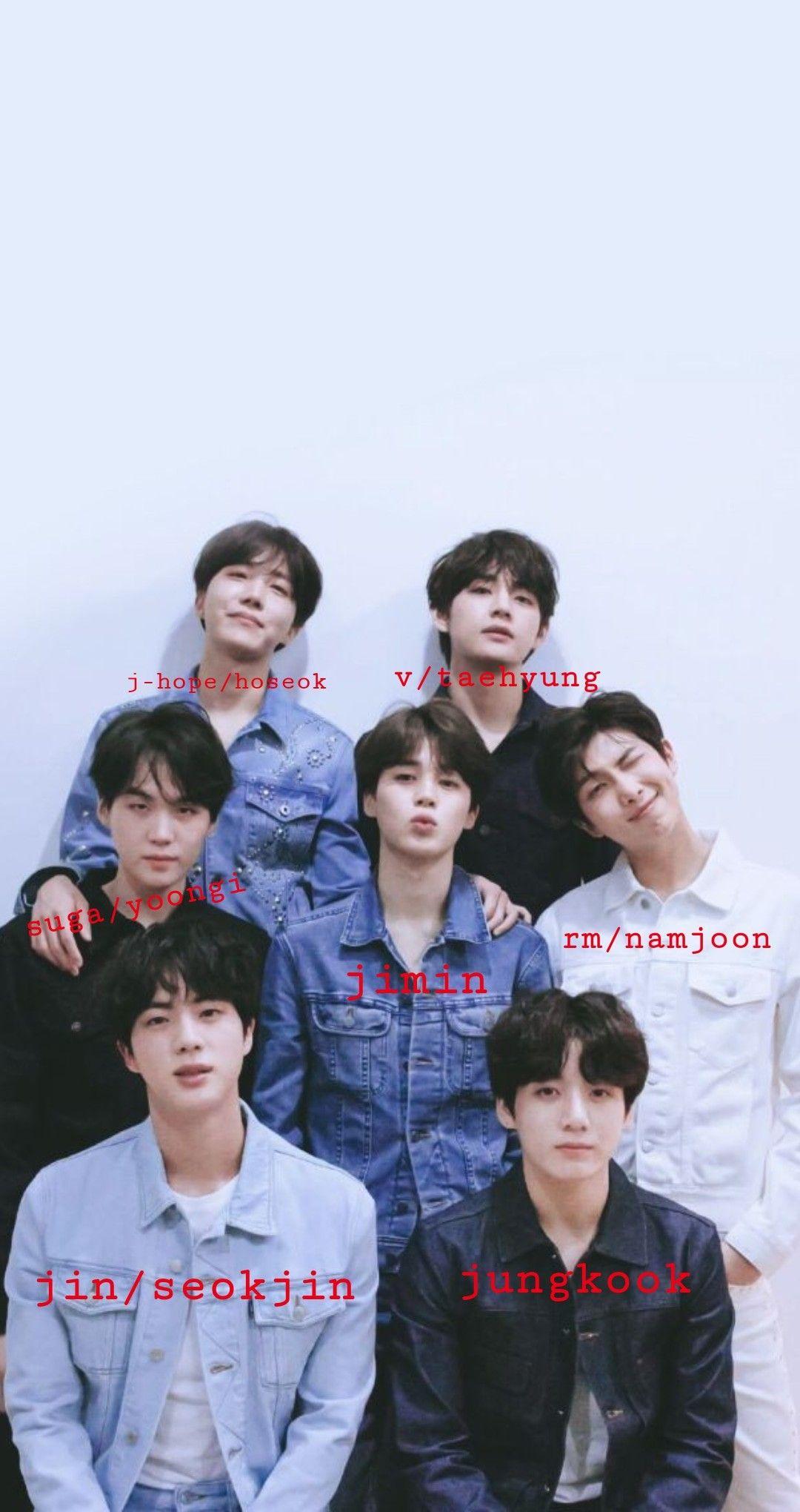 Bts Names Bts Name Bts Members Bts Members Names